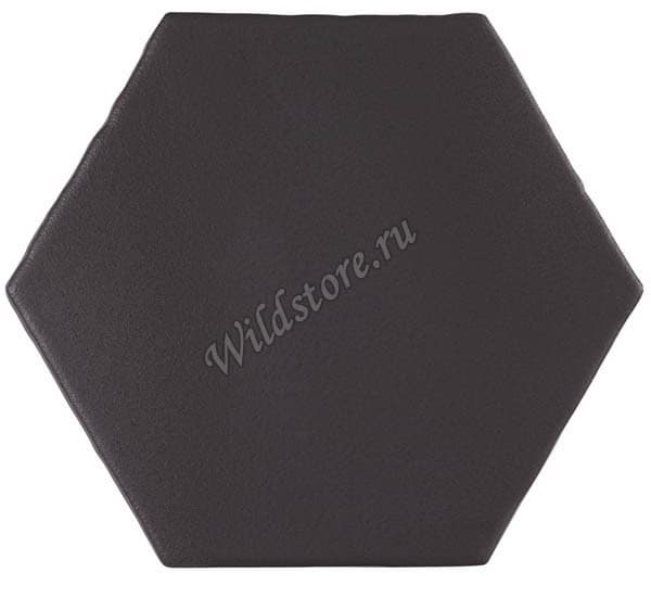 Плитка Marrakech Negro Hexagon 15x15 см